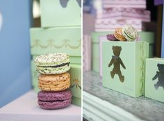 Famous macaroons from Laudree | photographed by Jordan Ferney