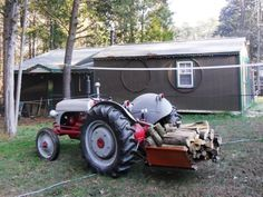 carryall 8n ford tractor, tractor implements, small engine, antique tractors,  vintage farm