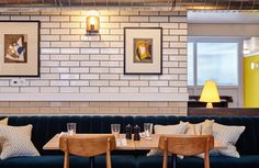 Lotti's @ The Hoxton, Amsterdam: High design & hipster hotel, restaurant & lounge, with canal views and stunningly beautiful interior design | Recommended by HYHOI.com: Have You Heard Of It? | A curation of design-led hotspots around the world, tried and tested