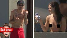 Louis Tomlinson & Danielle Campbell Topless In Mexico -- Dax Chat LIVE