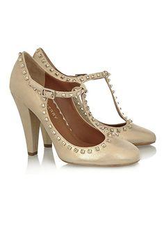 1920's T-bar shoe