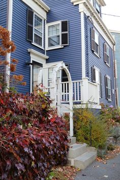 From a Great Blog - New England Living. Marblehead.