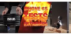 Doblado, quemado, aplastado o metido en agua. Hay de todo en el mundo, incluso gente dispuesta a gastarse una gran cantidad de dinero en un iPhone 6s sólo para someterlo a toda clase de pruebas y 'perrerías' varias. http://iphonedigital.com/el-iphone-6s-sometido-a-las-pruebas-mas-duras/  #iphone6s