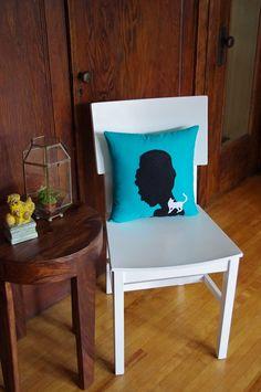 Audrey Hepburn Breakfast at Tiffanys Pillow
