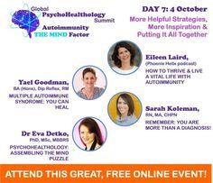 FREE Online Event! PsychoHealthology Summit Autoimmunity: THE MIND Factor - Reversing Autoimmune Disease