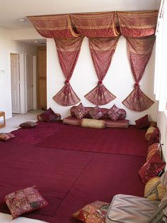 Easy way to decorate for henna party.