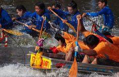 September Festivals in Thailand Long Boat Racing Festival Saraburi Province