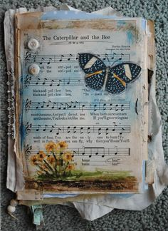 Nellie's Journals: The Caterpillar and the Bee