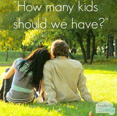 How many kids should I have - (I love #5!)