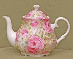 Lady Diana Chintz Fine China - wish I could just have a few pieces of this gorgeous china....it is so lovely!