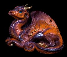 "WINDSTONE EDITIONS ""SWEET N SOUR #1"" OLD WARRIOR DRAGON"