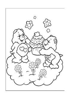 Disegni da colorare Gli orsetti del cuore 4
