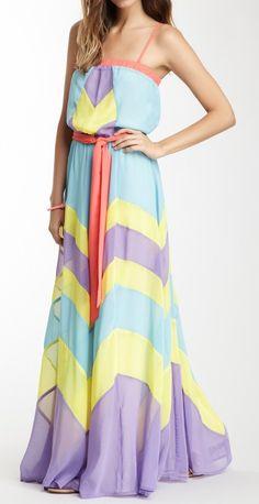 Sherbet Maxi Dress