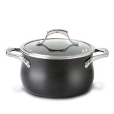Calphalon Unison 4-qt. Nonstick Hard-Anodized Covered Soup Pot