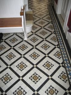 old stone tile floor