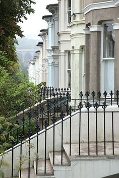 {Brighton} Victorian iron railings | photo by Maxwell Attenborough