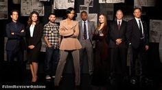 Scandal cast- Stephen Finch, Quinn Perkins, Huck, Olivia Pope, Harrison Wright, Abby Whelan, Cyrus and President Fitzgerald Grant