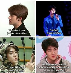 Shit Oh Sehun says 1/2