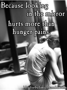Wrong-Hunger pains hurt-If you think starving feels good, you haven't suffered with Anorexia-And i hope you don't ever suffer with it-An eating disorder really is just glorified as something it is not-a way to be really skinny and feel better-In reality, its an ugly isolating battle many people fight and die from everyday-we need to stop making diseases look pretty-dying isn't romantic,eating disorders are not pretty-they should scare you, not make you to want to to hurt yourself-Ashley ray