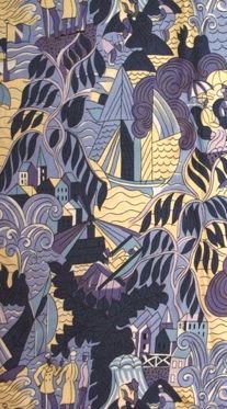 Textiles designed by Raoul Dufy (1877-1953).