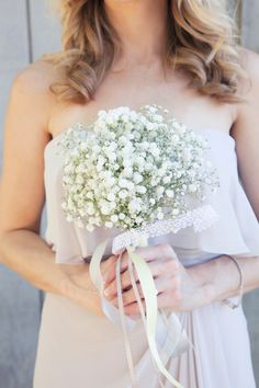 Lovely bridesmaid bouquet - photo by Christine Bentley Photography | junebugweddings.com