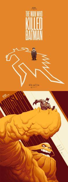 Batman The Animated Series posters   Created by Phantom City Creative
