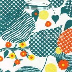jade floral hot couturier, robert kaufman, have this fabric!