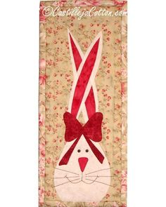Bunny & Bow Quilt Pattern
