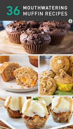 Healthy Mouthwatering Muffin Recipes #muffins #healthy #recipes