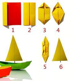 craft express - make a paper boat