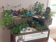 Our Gorgeous Creation of a useable  Gypsy Garden with herbs.   This was made for the  Newport Gardens Early Years Centre,  Newport Victoria  For all the kids to enjoy and learn about  Herbs and Gardening.  I hope they love it.... Fairytale Gardens
