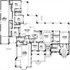 Turn rv garage into more living space. turn rv garage into more living space house floor plans Best House Plans, Dream House Plans, House Floor Plans, My Dream Home, Dream Homes, I Love House, Mediterranean House Plans, Space Architecture, House Layouts