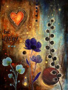 """Be Here"" by Shanti I.Kassebom"