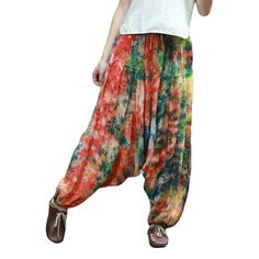 2016 Women Casual Pants Female Trousers Baggy Boho Harem Pants Jumpsuit Leg Bloomers Smocked Casual Pants Leisure Wear <3 AliExpress Affiliate's Pin. Find out more by clicking the image