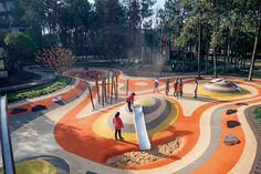 AVIC Park, Hongdu Nanchang, by YIYU design « Landscape Architecture Platform Modern Landscape Design, Landscape Architecture Design, Modern Landscaping, Contemporary Landscape, Urban Landscape, Landscape Architects, Landscaping Ideas, Landscaping Edging, Landscaping Melbourne