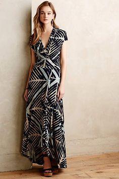 Desert Star black + white #Maxi #Dress - anthropologie.com