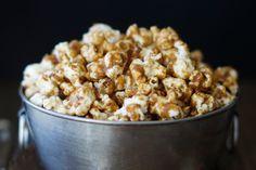 No-Bake Salted Caramel Popcorn - Savory Style