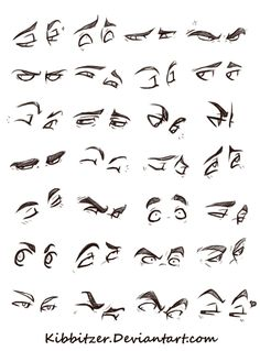 Anatomy Drawing Eyes Reference Sheet by Kibbitzer - Realistic Eye Drawing, Drawing Eyes, Manga Drawing, Figure Drawing, Drawing Sketches, Drawing Feelings, Comic Book Drawing, Animation Sketches, Drawing Hair