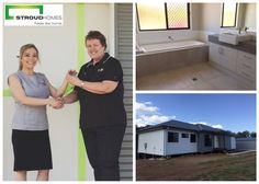 Congratulations to Sue on receiving the keys to your brand new custom-built home in Wamuran, QLD. This home suits your sloped block perfectly. We wish you all the best for the future in your brand-new home! #stroudhomes #feelslikehome #happy #handover