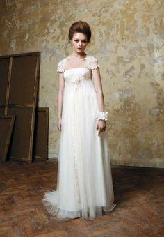Robe de mariée style Empire modèle Delacroix d'Elisabeth Barboza ...