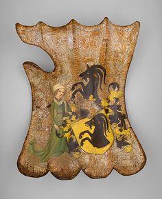 German Tournament Shield (Targe) c. 1450   The Metropolitan Museum of Art
