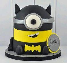 Batman Minion Cake   rosbs