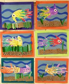 Art with Mr. Giannetto: Kindergarten Fish