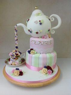 Tea pot cake - Cake by Mirela