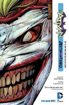 Batman Vol. 3: Death of the Family (The New 52) by Scott Snyder, http://www.amazon.com/dp/1401242340/ref=cm_sw_r_pi_dp_BHyutb0SRJFD3PC3