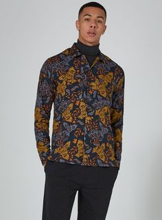 Like the shirt/rollneck combo