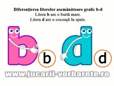 diferentiere b-d Teaching Materials, Letters And Numbers, Preschool, Family Guy, Teacher, Reading, Roman, Animal, Livres