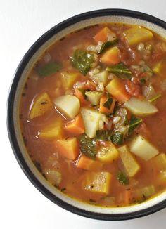 Healthy, Tasty, & Simple Eating: Vegetable Rice Soup
