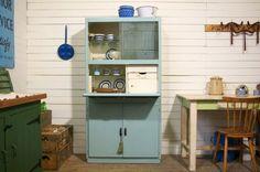 Desirable vintage kitchen cupboard