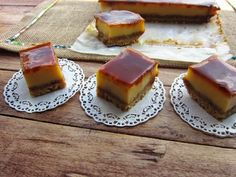 Una pincelada en la cocina: cheesecake de mascarpone con toffee